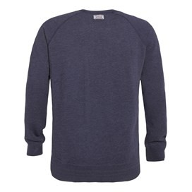 Dender Printed Crew Neck Sweatshirt Dark Navy