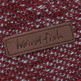 Olt Button Neck Macaroni Hoody  Pinot Red