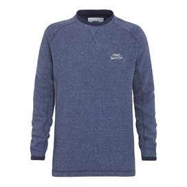 Stour Crew Neck Soft Knit Jumper Dark Navy