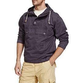 Para Overhead Cotton Cagoule Jacket Storm Grey