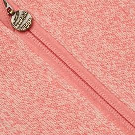 Vogel 1/4 Zip Soft Knit Fleece Coral Pink