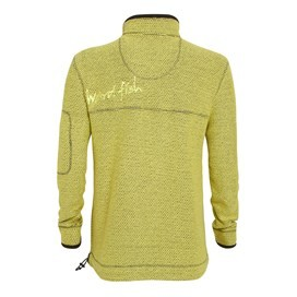 Parkway 1/4 Zip Deluxe Tech Macaroni Sweatshirt Soft Lime