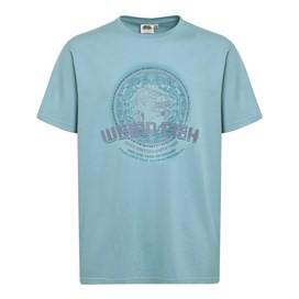 Rickshaw Tuk Print Boy's T-Shirt Washed Teal