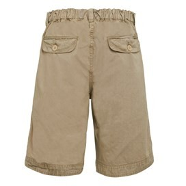 Tugaloo Relaxed Boy's Shorts Taupe Grey