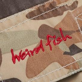 Kitefin Fish Print Boy's Boardshorts Camo