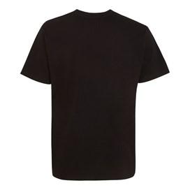 Carp Side Front Print Artist T-Shirt Black