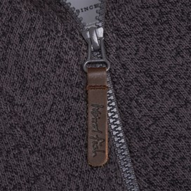 Totum 1/4 Zip Soft Knit Fleece Flint Grey