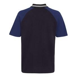 Khalifa Contrast Polo Shirt Peacoat
