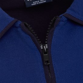Marina 1/4 Zip Polo Shirt True Blue