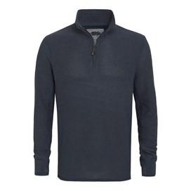 Doren 1/4 Zip Mac Active Sweatshirt Airforce Blue