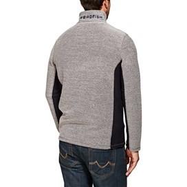 Siren 1/4 Zip Contrast Mac Active Sweatshirt Frost Grey
