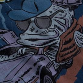 Bass To The Future Artist T-Shirt Estate blue