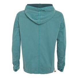 Para Overhead Cotton Cagoule Jacket Sea Green