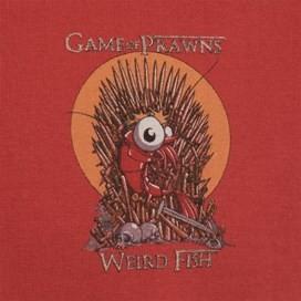 Game Of Prawns Artist T-Shirt Cranberry