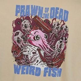 Prawn Of The Dead Artist T-Shirt Oyster