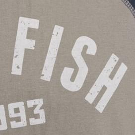 Ying Printed Jersey Raglan T-Shirt Pale Silver
