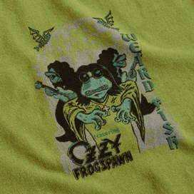 Black Salmon Artist T-Shirt Deep Lime
