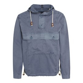 Para Overhead Cotton Cagoule Jacket Airforce Blue