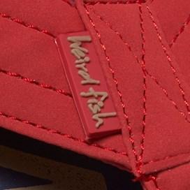 Holder Printed Flip Flop Crimson