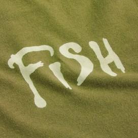 Carp Side Of The Moon Artist T-Shirt Deep Lime