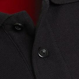 Almas Pique Polo Shirt Black