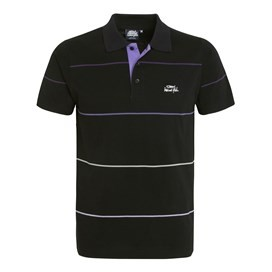 Marquis Short Sleeve Polo With Stripe