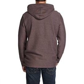 Beacon Zipped Hooded Macaroni Sweatshirt Mink