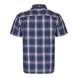 Farley Check Short Sleeve Shirt Imperial Blue