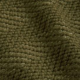 Paulo Tiger Stripe ¼ Button Macaroni Sweatshirt Dusky Green