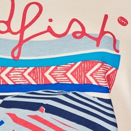 Orion Graphic Print T-Shirt Pebble