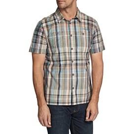 Helston Check Print Short Sleeve Shirt Multi Check