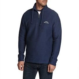 Cruiser 1/4 Zip Classic Macaroni Sweatshirt Dark Navy