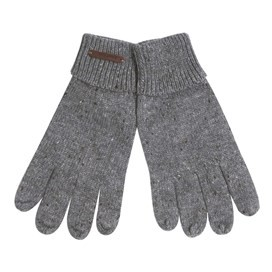 Snork Soft Knitted Gloves Frost Grey