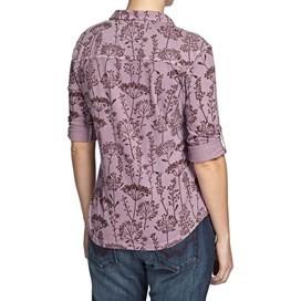 Heidi Floral Printed Jersey Shirt Lavender