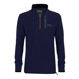 Parkway Deluxe Tech Macaroni Sweatshirt Estate blue