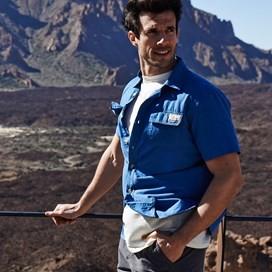 Monteiro Short Sleeve Shirt Estate blue