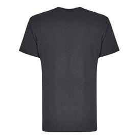 Raziel Branded Graphic Print T-Shirt Ebony