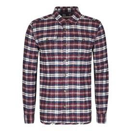 Ashburton Flannel Check Long Sleeve Shirt Seal Brown