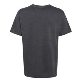 Escapade Jersey Graphic Print T-Shirt Ebony Marl