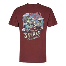 Pikes Challenge Printed Artist T-Shirt Conker