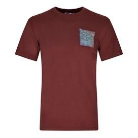 Hake District Printed Artist T-Shirt Conker