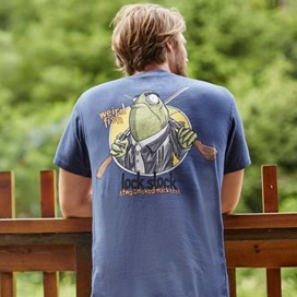 Lock Stock Printed Artist T-Shirt Conker