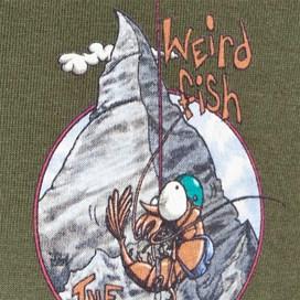 Matterprawn Printed Artist T-Shirt Olive Night