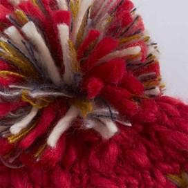 Norway Slub Yarn Soft Chunky Hat Foxberry