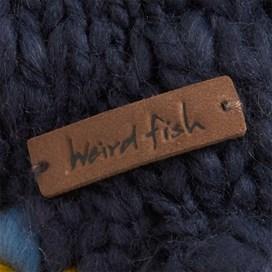 Strand Embroidered Mongolian Hat Dark Navy
