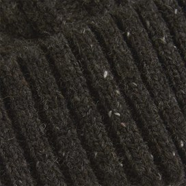 Swiftsure Cable Soft Knitted Beanie Hat Liquorice