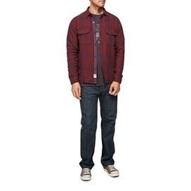 Phantom Check Flannel Long Sleeve Shirt Conker