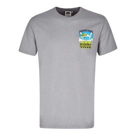 Rugby World Cup Printed Artist T-Shirt Frost Grey