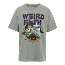 Fish Course Artist T-Shirt Steel