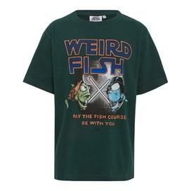 Fish Course Artist T-Shirt Evergreen